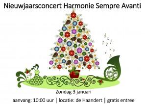 Nieuwjaarsconcert harmonie Sempre Avanti